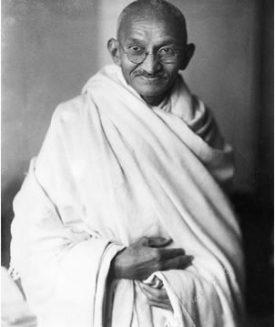 gandh-in-white-robe